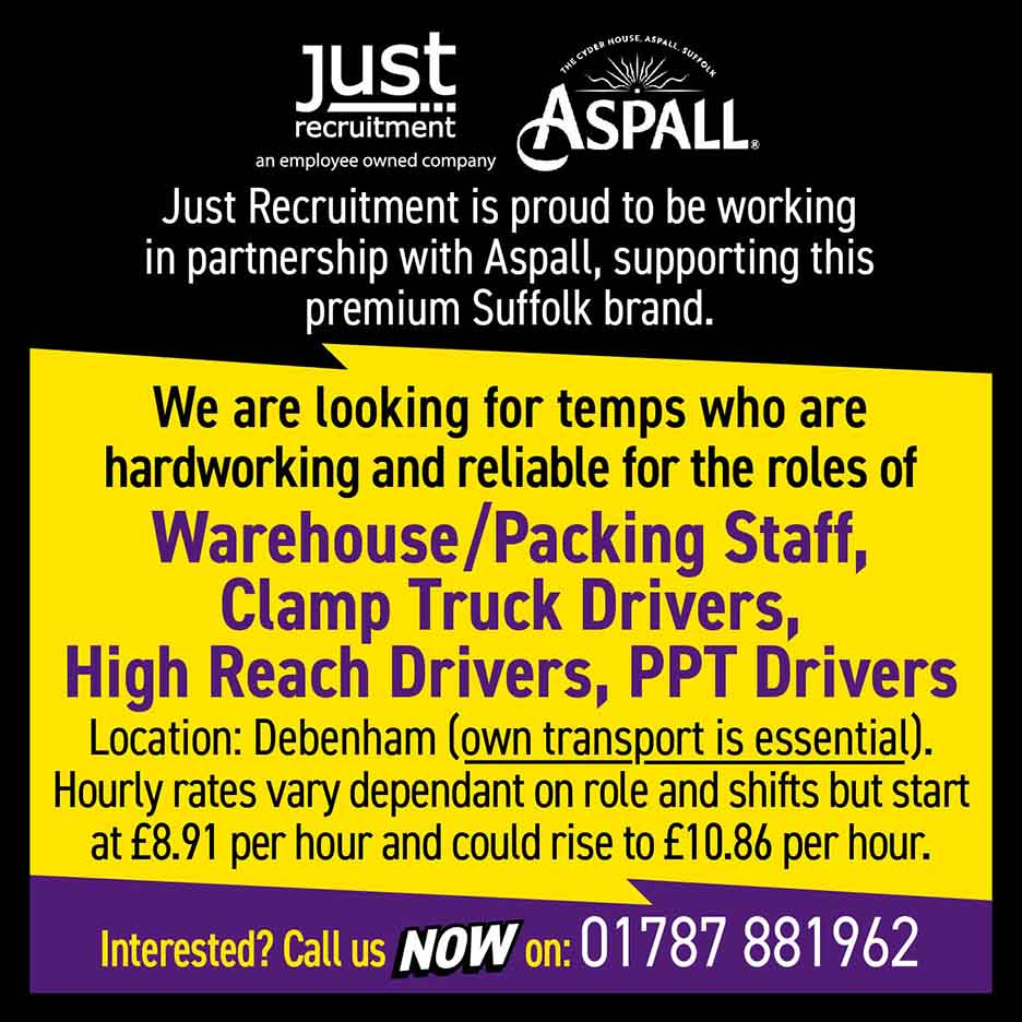 Aspall are recruiting
